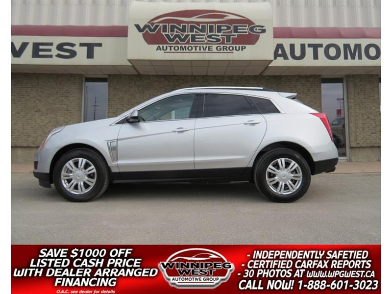 2015 Cadillac SRX LUXURY AWD LOADED PAN ROOF, NAV, ACCIDENT-FREE!! #GNW5105