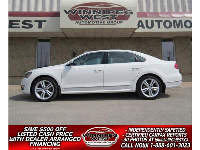 2014 Volkswagen Passat HIGHLINE TDI DIESEL, EMMISSIONS CERTIFIED, LOADED! #DW5101