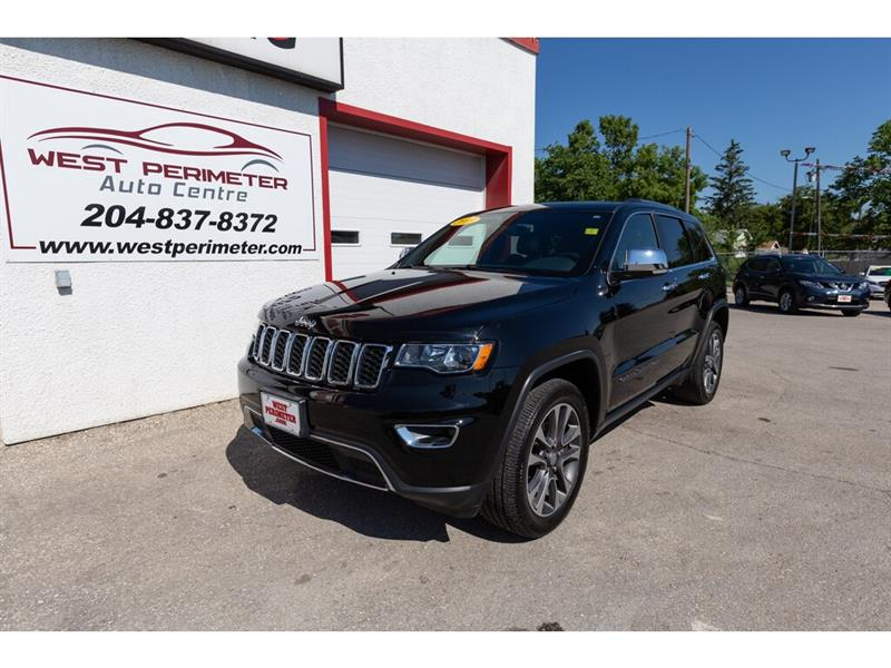 2018 Jeep Grand Cherokee LIMITED NAV S/ROOF LEATHER #5530