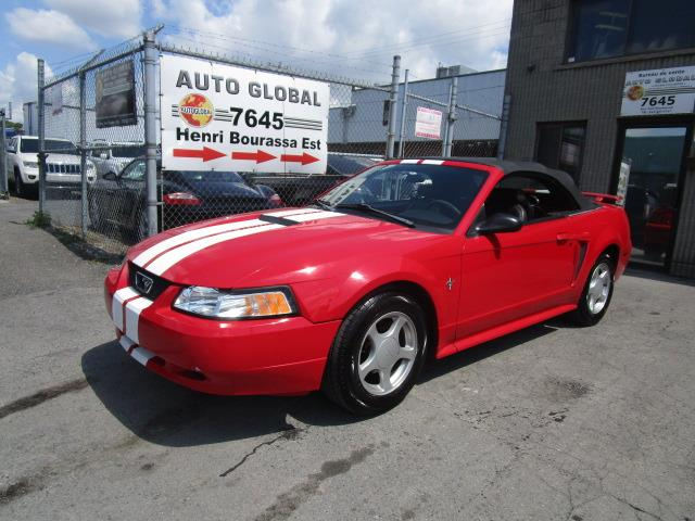 Ford Mustang 2002 Convertible Automatique TRES BAS MILLAGE #19-1102
