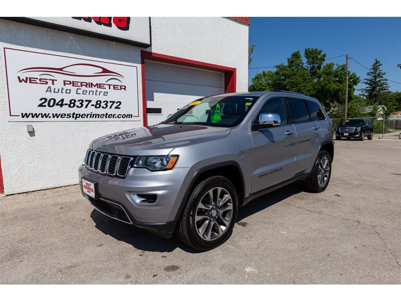 2018 Jeep Grand Cherokee Limited 4WD * Nav* S/Roof * Htd. Leather #5549
