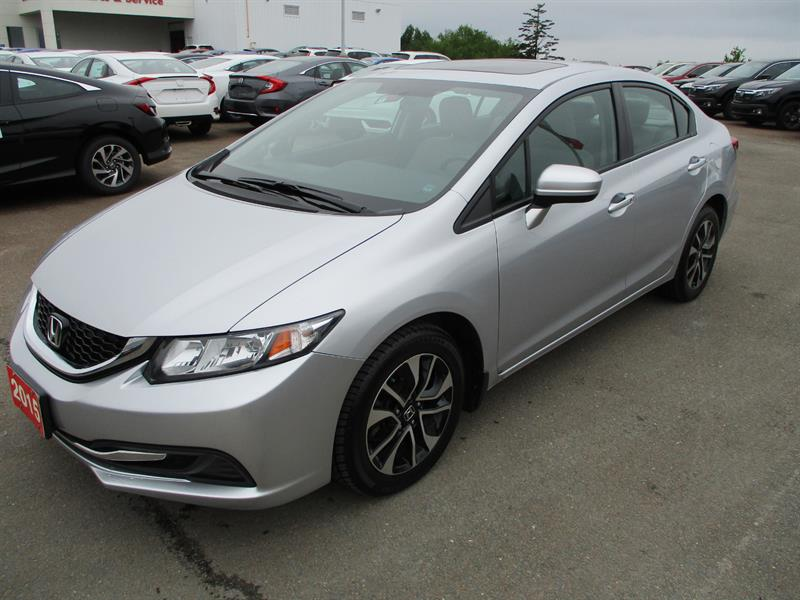 2015 Honda Civic Sedan 4dr Auto EX #FH004947A