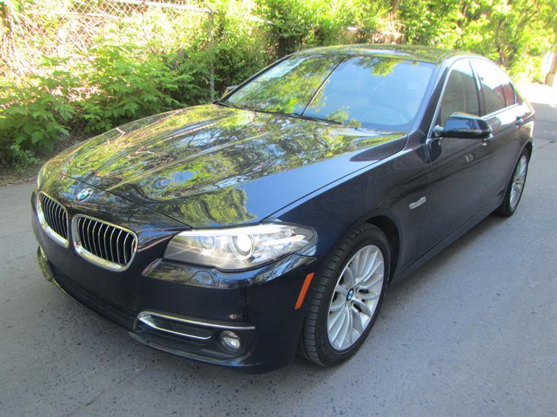 BMW 528i 2014 LOW KM NO ACCIDENT #2238  CERTIFIÉ*