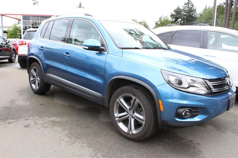 2017 Volkswagen Tiguan 4MOTION 4dr Highline #11890A (KEY 106)