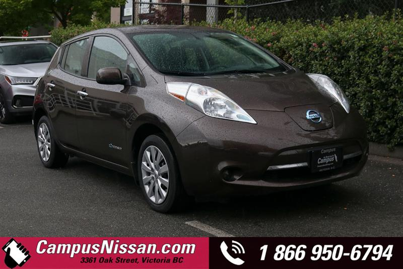 2016 Nissan Leaf S FWD w/ Quick-Charge #JN3299