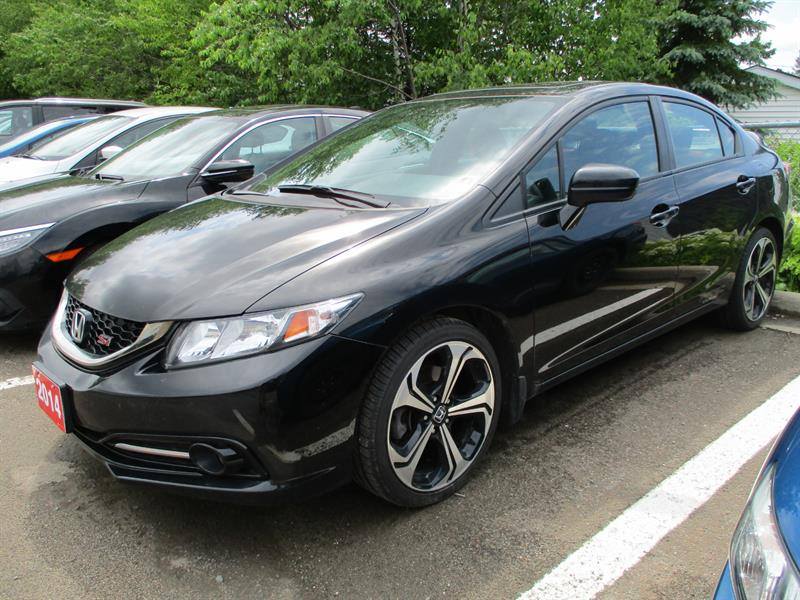 2014 Honda Civic Sedan 4dr Man Si #EH201299A