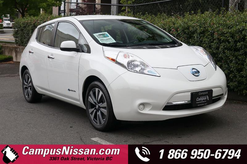 2016 Nissan Leaf SV Quick-Charge & 30 kWh Battery #JN3278
