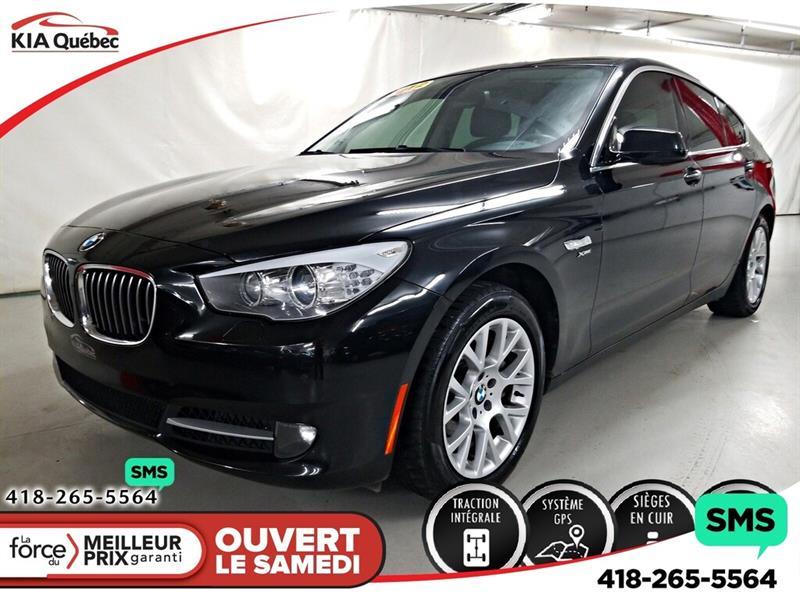 BMW 535I 2012 535* GT* XDRIVE* GPS* CUIR* TOIT PANO* #K191690DD