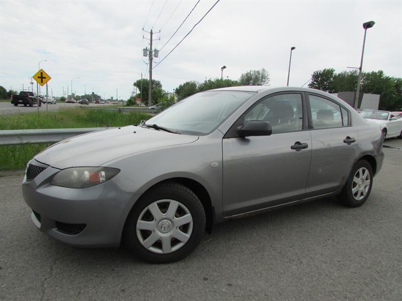 Mazda Mazda3 2006 X MAN. TRÈS ECONOMIQUE!!! #4593A