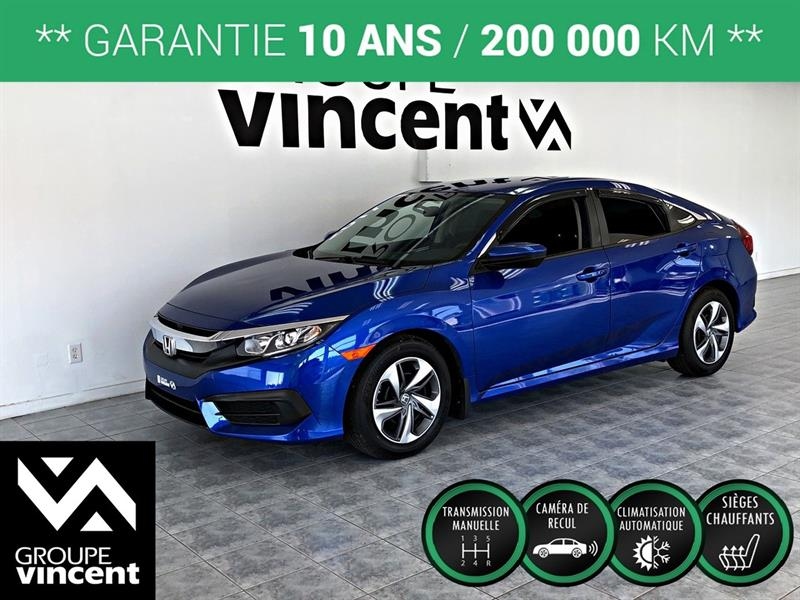 Honda Civic 2017 LX ** GARANTIE 10 ANS ** #KK7787H