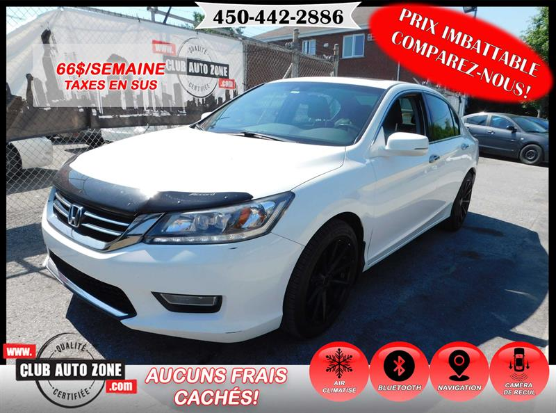 Honda Accord Sedan 2013 V6 TOURING AUTOMATIQUE NAVIGATION CAMÉRA #DA801987