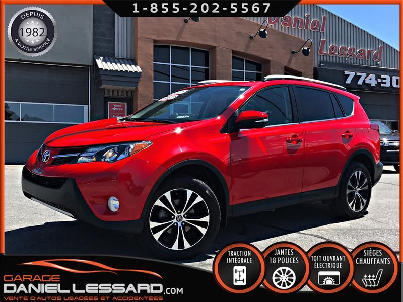 Toyota RAV4 2015 AWD XLE, TOIT OUVRANT, MAGS 18'', CAMÉRA, BAS KM ! #59113