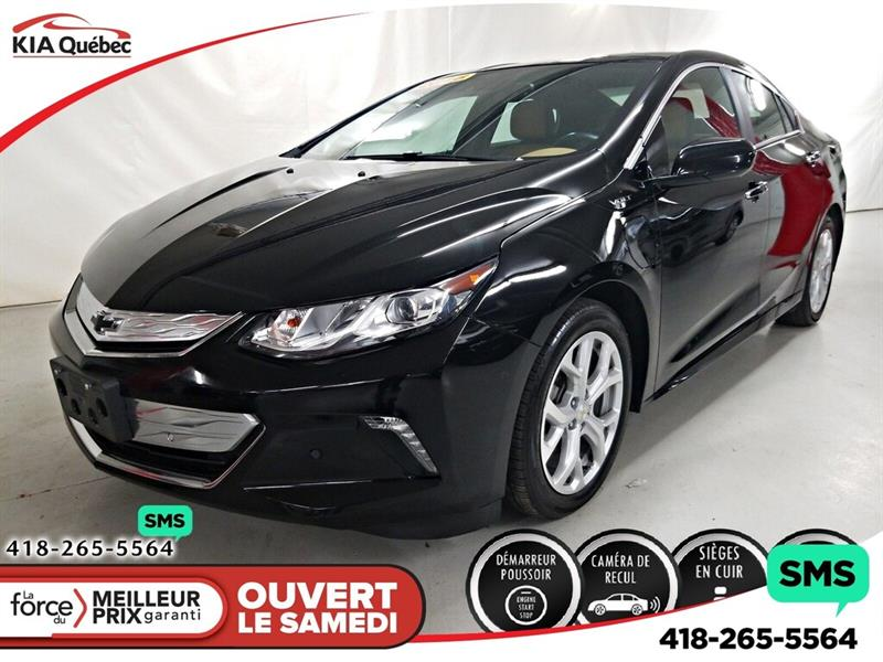 Chevrolet Volt Electric 2018 PREMIER* CUIR* CARPLAY* CAMERA* SIEGES CHAUFFANTS* #QU10847