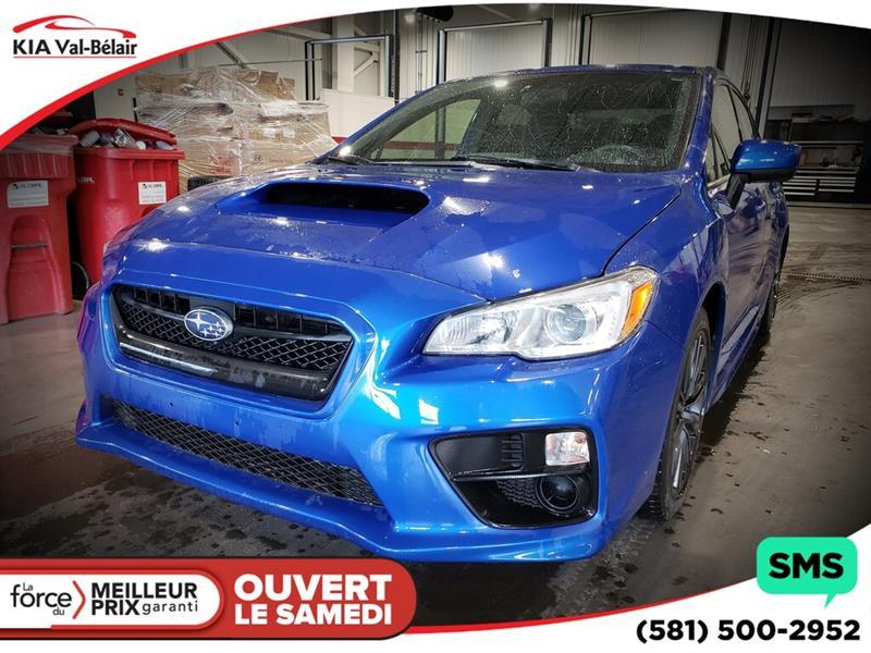 Subaru Wrx 2016 *BASE*AIR*CRUISE*BLUETOOTH*AWD* #VU485A