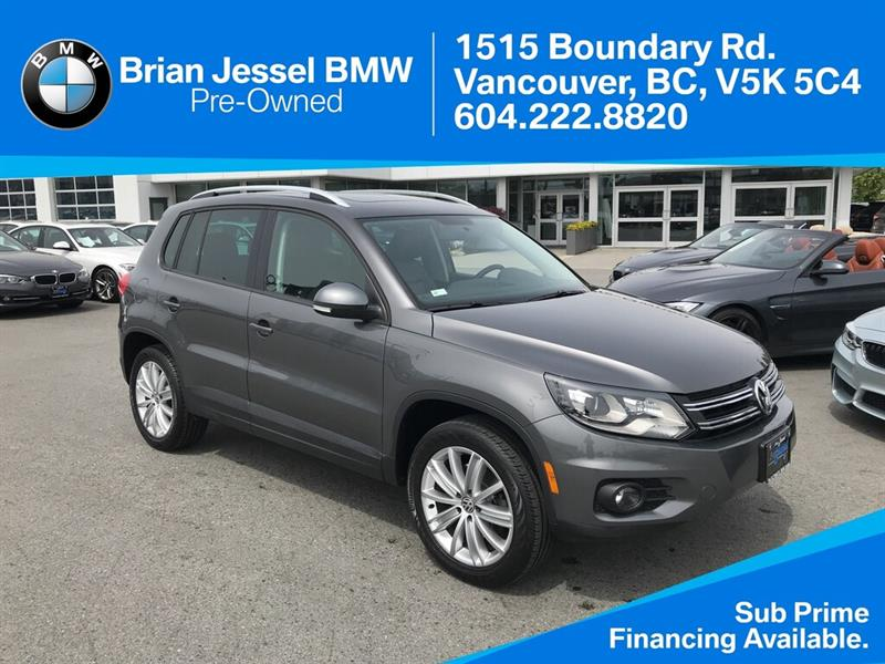 2015 Volkswagen Tiguan 4Motion #BP8097