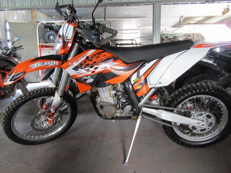 KTM 450 EXC 2011