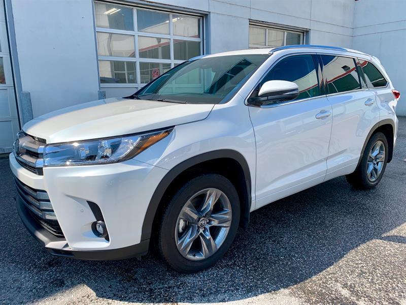 Toyota Highlander 2019 AWD Limited  Démo !!! Rabais 4000$ #19037