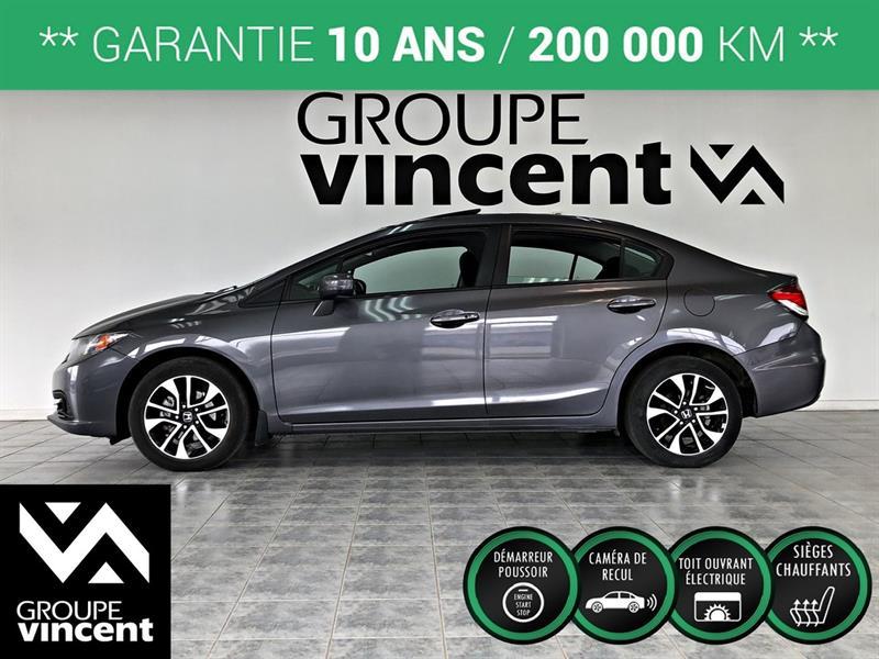 Honda Civic 2015 EX **GARANTIE 10 ANS** #K4134