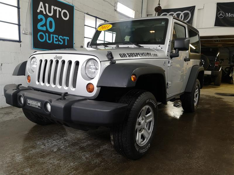 Jeep Wrangler 2011 4WD 2dr Sport #A-19083