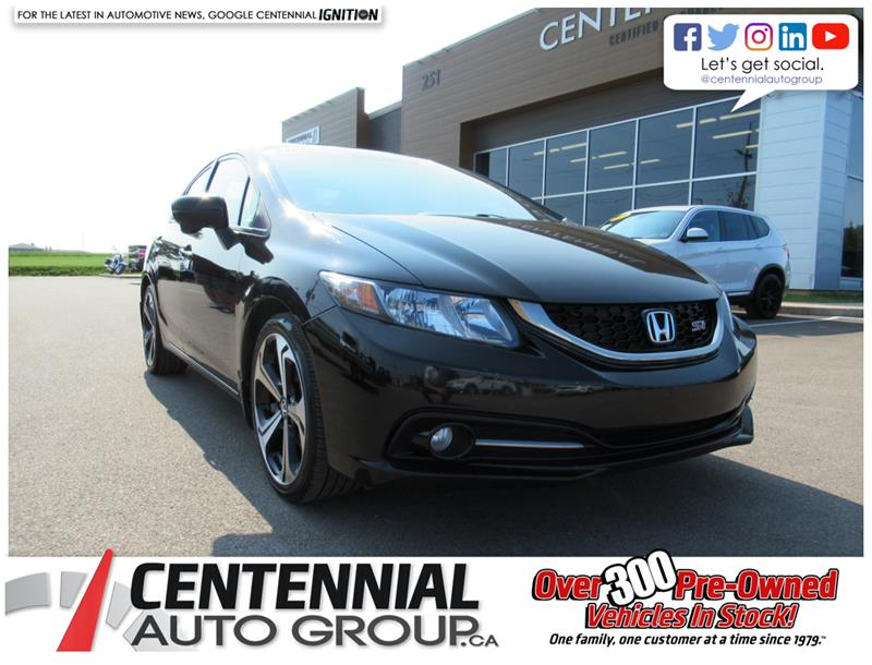 2015 Honda Civic Sedan Si | Sedan | Navigation #U658C