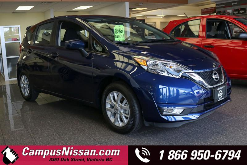 2019 Nissan Versa Note SV FWD w/ Special Edition Pckg #9-B165