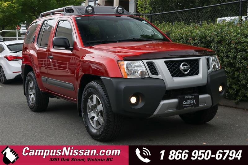 2011 Nissan Xterra | PRO-4x | 4WD w/ Tow Package #9-T239A