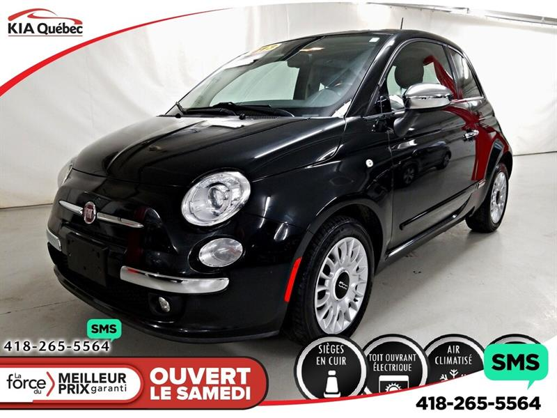 Fiat 500 2013 LOUNGE** A/C* TOIT OUVRANT* MAGS* #K190461A