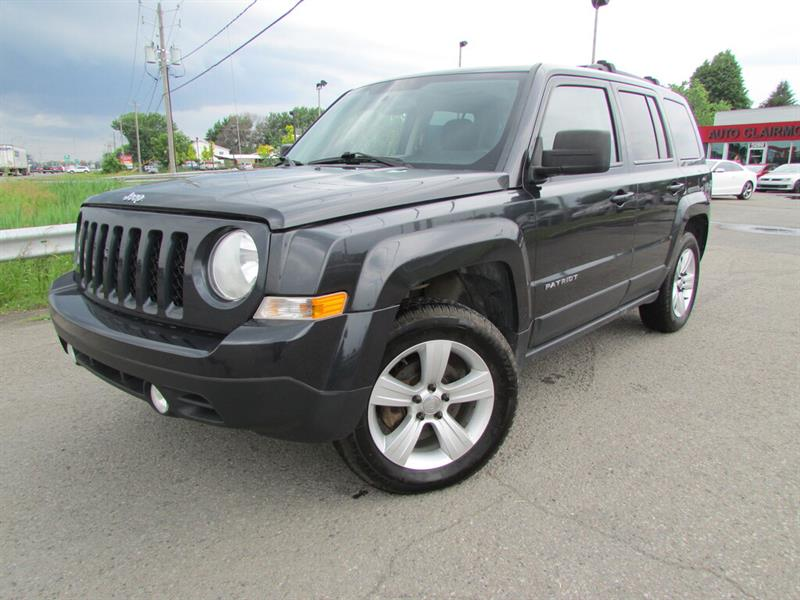 Jeep Patriot 2015 4WD North BLUETOOTH TOIT OUVRANT!!! #4536