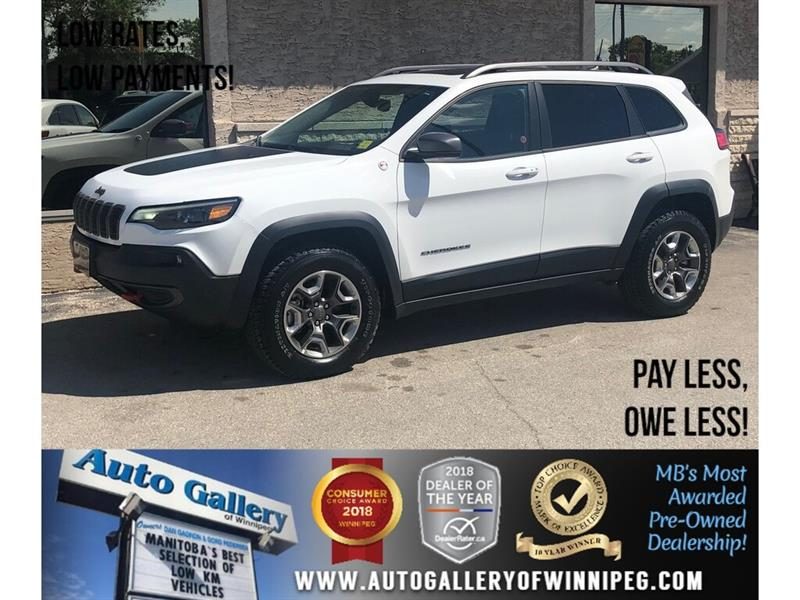 2019 Jeep Cherokee Trailhawk Elite *4X4/B.tooth/Htd Lthr/Pano Roof #23944