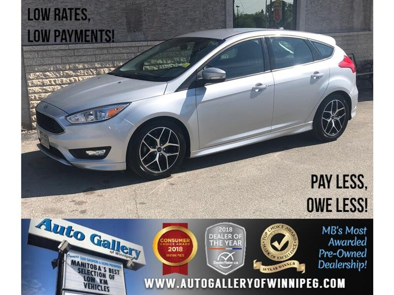 2015 Ford FOCUS 2015 Ford Focus SE *B.tooth/B.Cam #23971