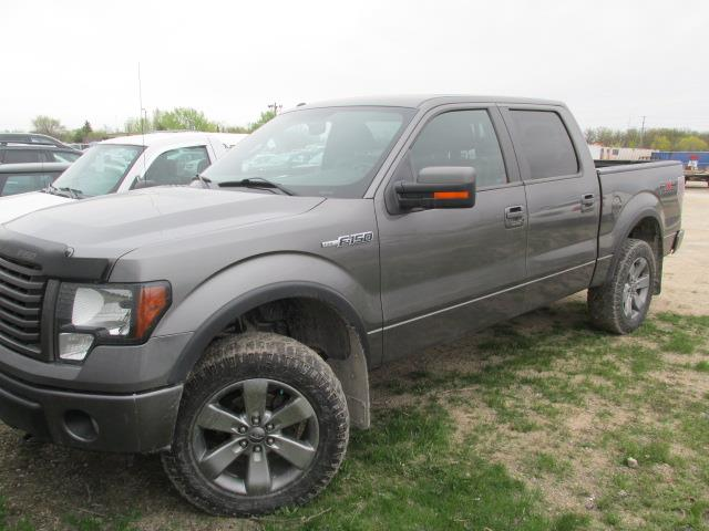 2011 Ford F-150 4WD SuperCrew #1140-1-68