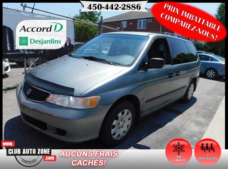 Honda Odyssey 2001 LX AUTOMATIQUE AIR CLIMATISÉ #1H001471
