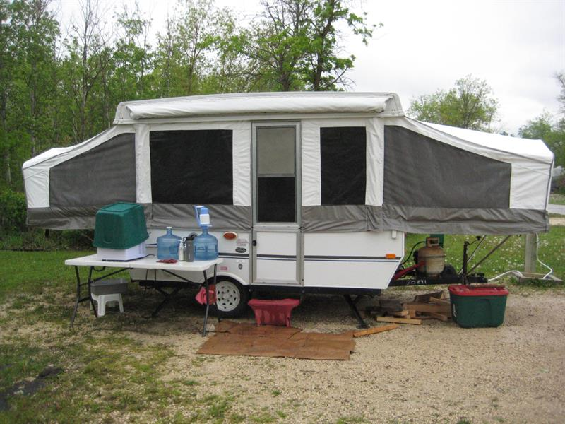 2006 Vanguard Palomino Pony Tent Trailer