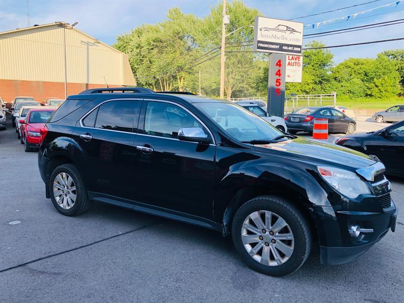 Chevrolet Equinox 2010 AWD-Air-Bluetooth-Mags-Cruise-Jamais Accidentée #97880-2