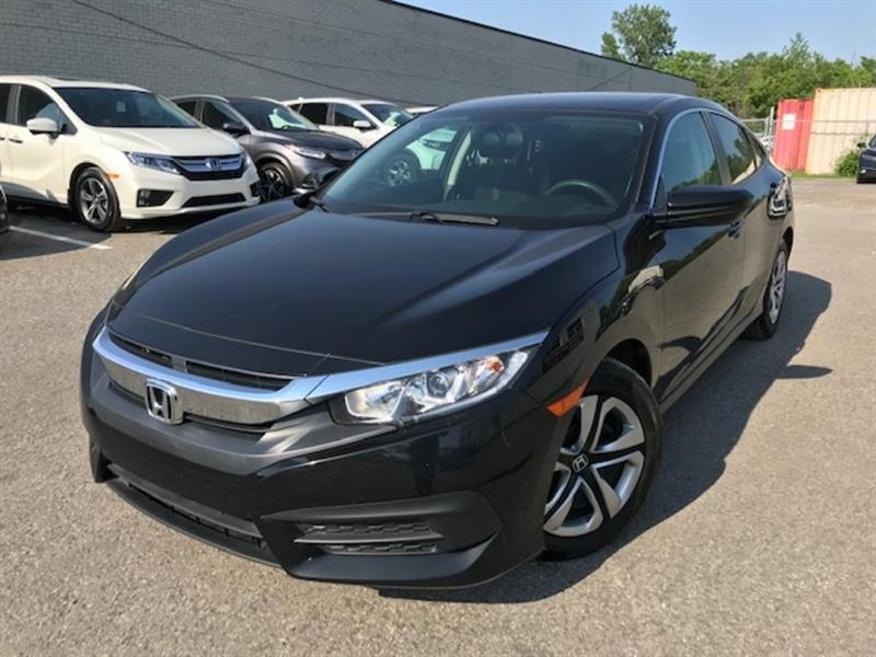 Honda Civic Sedan 2017 2017 Honda Civic Sedan - 4dr Man LX #U1644