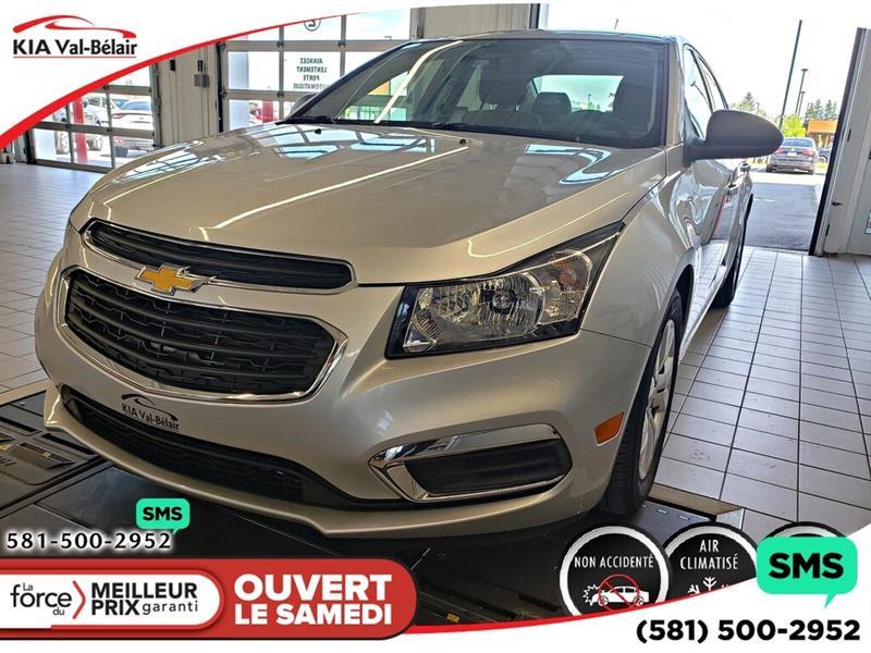 Chevrolet Cruze 2016 *LS 2LS*LECTEUR CD*BLUETOOTH*AIR* #V190762A