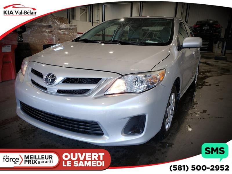 Toyota Corolla 2012 *CE*LECTEUR CD* AIR*PRISE AUX* #V200070A