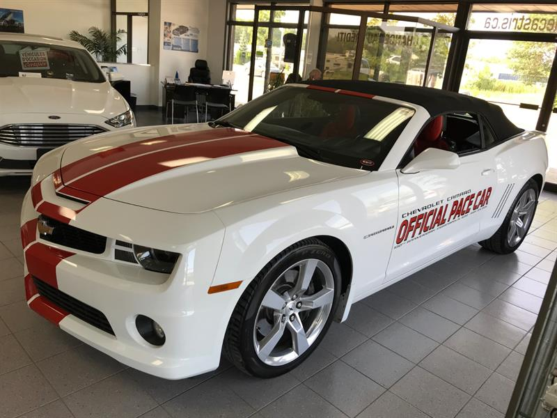 Chevrolet Camaro 2011 2dr Conv 2SS  PACE CAR #B9189682