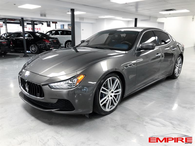 2014 Maserati Ghibli S Q4 NAVI CAMERA BLUE LEATHER #A6906-1-1