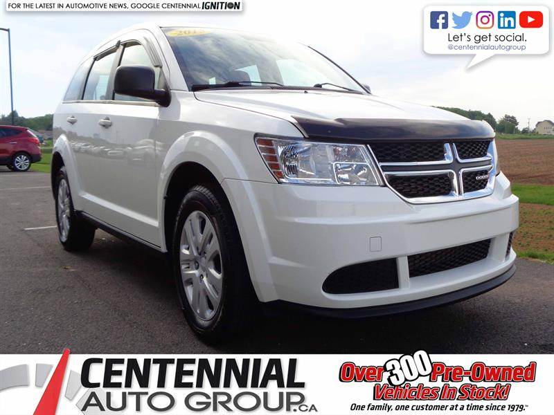 2015 Dodge Journey CVP | Local Trade | One Owner #S19-119A