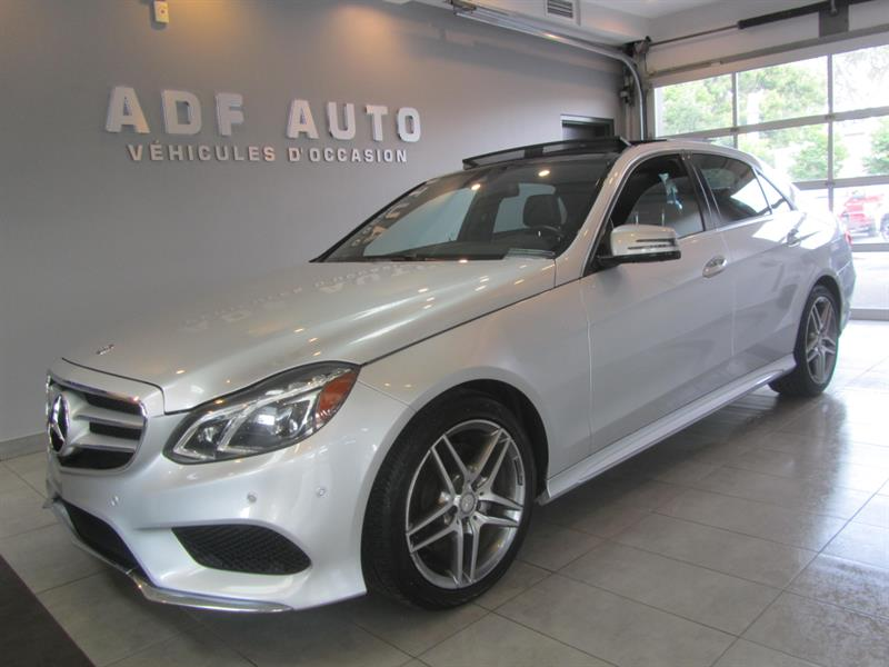 2015 Mercedes-Benz E-Class E400 4MATIC AMG PACKAGE NAVIGATION #4474A
