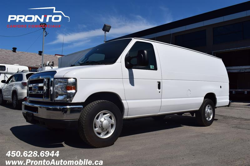 2013 Ford Econoline Cargo Van E-250 Ext/Allongé ** Converti au propane ** #1912