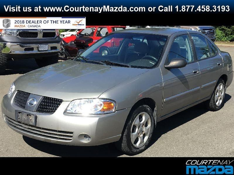 2004 Nissan Sentra 4Dr Sedan 1.8 5sp #19CX51317B