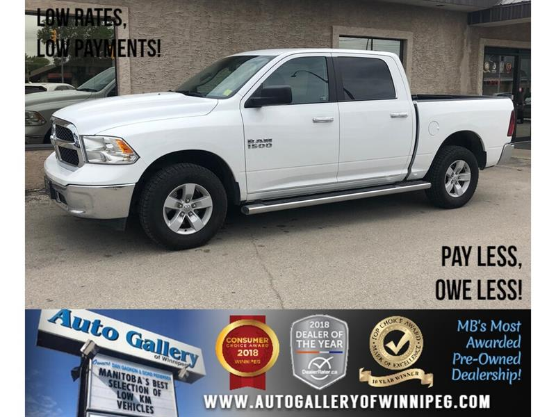 2016 Ram 1500 SLT *4X4/V6/Backup Camera #23709
