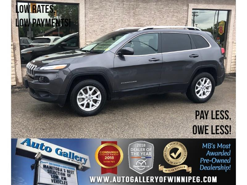 2018 Jeep Cherokee North *4x4/B.tooth #23969