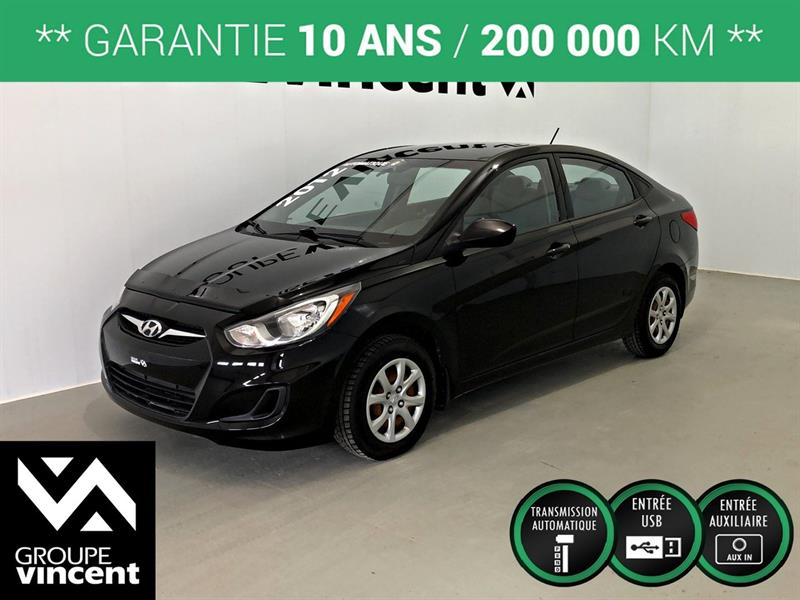 Hyundai Accent 2012 L ** GARANTIE 10 ANS ** #44352AT