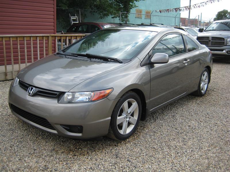 2006 Honda Civic Cpe 2dr LX Auto #011044