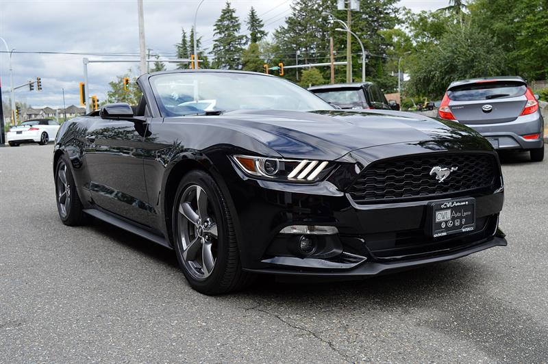 2016 Ford Mustang Convertible V6 / Local #CWL9225M