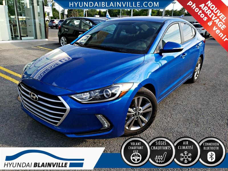 Hyundai Elantra 2017  GL, BLEUTOOTH, APPLE CARPLAY , ANDROID AUTO  #A-2885