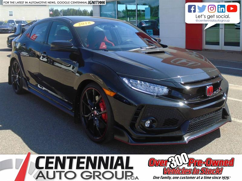 2018 Honda Civic Type R Manual | 306 Horsepower | Adaptive Damping #U1922A